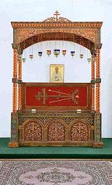 Рака с мощами св.Феодора Томского