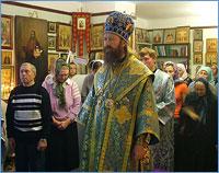 Архиепископ Ростислав совершил Божественную литургию в домовом храме в честь иконы Божией Матери «Целительница» в Областной клинической больнице г.Томска