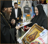 В Томске открылась выставка-ярмарка «От покаяния к воскресению России»