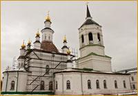 Престольный праздник Казанского храма Богородице-Алексиевского монастыря