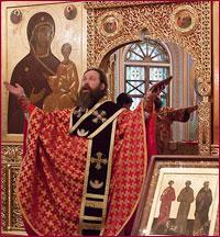 Архиепископ Томский и Асиновский Ростислав совершил Божественную Литургию святого апостола Иакова