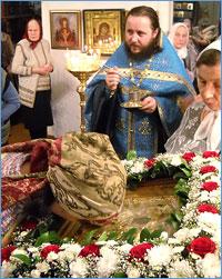 Верующие г. Колпашево, с. Тогура и с. Кривошеино помолились перед чудотворным образом Божией Матери