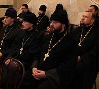 Состоялось собрание настоятелей Градо-Томского благочиния