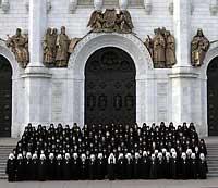 Архиепископ Томский и Асиновский Ростислав принял участие в  Архиерейском Соборе Русской Православной Церкви в Москве