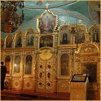 Архиепископ Ростислав совершил Божественную литургию в Свято-Троицкой церкви г. Томска