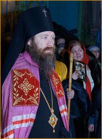 Архиепископ Ростислав совершил Божественную литургию в Свято-Никольском женском монастыре  п. Могочино