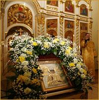 Престольный праздник на Приходе Святителя Николая г.Стрежевой