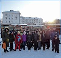 Православные следопыты из Кемерово посетилиСеверск