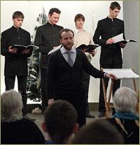 Хор Томской духовной семинарии дал концерт в Академгородке