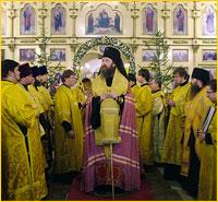 Мощи святителя Макария (Невского) были принесены в Богородице-Владимирский храма г.Северска (видео)