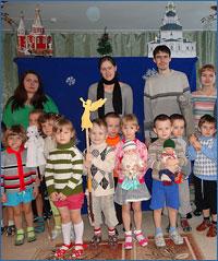 Рождественский спектакль для дошколят