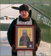 В небе над Томском был совершен молебен