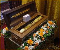 В с.Мельниково и с.Победа Шегарского района были принесены мощи святителя Макария