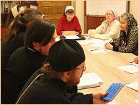 Состоялась встреча приходских социальных работников Градо-Томского благочиния