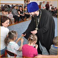 21 февраля в детском доме №1 города Томска состоялся утренник, посвященный мясопустной седмице — масленице