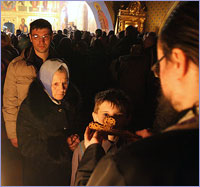 Общегородской чин прощения в Богоявленском кафедральном соборе г.Томска