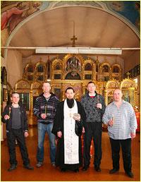 В Свято-Троицкой церкви г.Томска был совершен чин присоединения к Православию