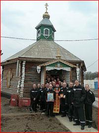 В тюремном храме колонии ИК-2 г.Асино совершено пасхальное богослужение