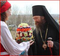Архиепископ Ростислав с архипастырским визитом посетил г.Северск