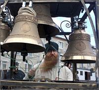 Звонари из Томска приняли участие в Пасхальном фестивале звонарского искусства Сибири