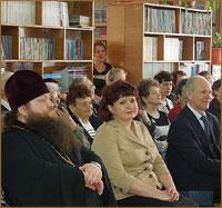 Благочинный Восточного округа Томской епархии поздравил работников библиотек с профессиональным праздником
