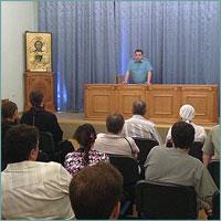 В Томской духовной семинарии прошли занятия по противопожарной безопасности