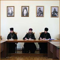 В Томской духовной семинарии прошло заседание Ученого совета