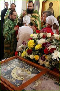 В Томске отпраздновали годовщину обретения мощей св. праведного старца Феодора