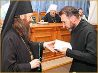 Учебный год в Томской духовной семинарии завершился выпускным актом