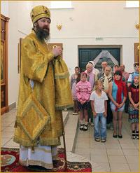 Архиепископ Ростислав  посетил Парабельский район