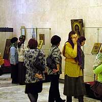 Открытие выставки «СВЯТЫНИ ТОМСКИХ ХРАМОВ»  в г.Северске