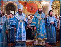 В Томске начались торжества по случаю второго обретения Богородской иконы Божией Матери