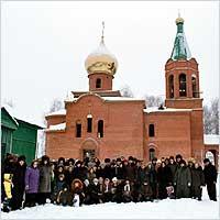 С 5 по 6 декабря село Парабель посетил руководитель Отдела по делам молодежи Томской епархии иерей Евгений Воронков
