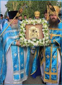 Томская епархия в четвертый раз празднует обретение Богородской иконы Божией Матери