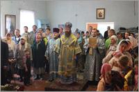 Престольный праздник Успенского храма п. Лоскутово
