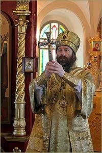 Престольный праздник в Спасском храме с. Коларово