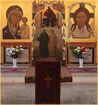 Архиепископ Ростислав возглавил богослужения в престольный праздник Богородице-Алексиевского монастыря