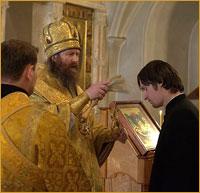 Божественной литургией в Богоявленском кафедральном соборе начался учебный год в Томской духовной семинарии