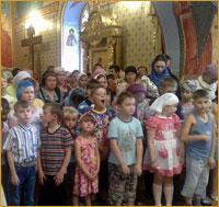 Архиепископ Ростислав совершил молебен перед началом учебного года