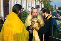 В Томск прибыли мощи св. блаженной Матроны Московской