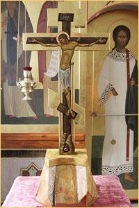 Благочестивые жители Кузбасса изготовили в дар Богородице-Алексиевскому монастырю Памятный Крест