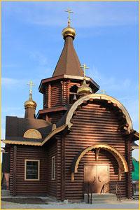 Архиепископ Ростислав совершил великое освящение храма в честь Рождества Иоанна Предтечи в пос.Заварзино