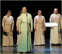 В Томске состоится концерт Праздничного мужского хора Московского Данилова монастыря