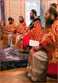 Архиепископ Ростислав совершил Литургию святого апостола Иакова