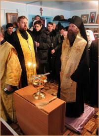 Состоялось освящение храма в честь святителя Николая Чудотворца в с. Бабарыкино