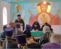 Преподаватели Томской духовной семинарии приняли участие в X пастырской конференции в Абакане