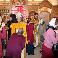 Освящение храма в Кардиоцентре