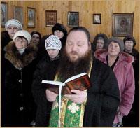 В православной общине села Мало-Жирово Асиновского района совершено богослужение