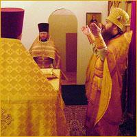 День памяти святителя Николая, архиепископа Мир Ликийских, является престольным праздником домового храма при Областной психиатрической больнице г.Томска