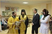 В городской больнице №2 освящен храм святителя Николая Чудотворца